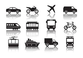 Gratis Transport Pictogrammen Vector