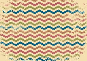 Grunge Chevron Background