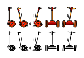 Segway Icon Vector
