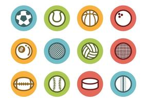 Free Sports Ball Icons Vektor