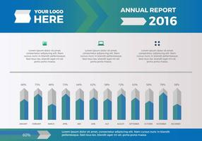 Free Annual Report Vector Presentation 14