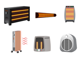 Free Heater Vector