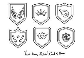 Blason - Hand-drawn Set