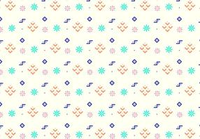 Fun Geometric Shapes Pattern