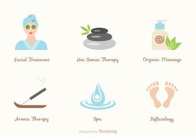 Spa And Wellness Vector Icons