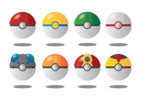 Free Pokemon Icons Vector