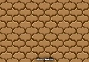Pixelated Seamless Pattern - Vektor Hintergrund