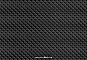 Vector patrón transparente con triángulos negros