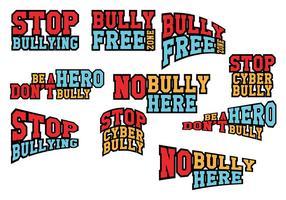 Pare o vetor de bullying
