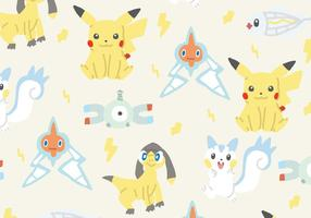 Electric Type Pokemon Pattern