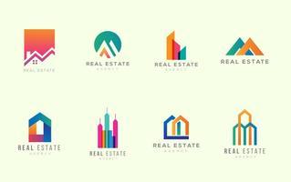 Gratis fastighetslogo mallar
