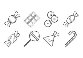 Vectores gratis de Candy Icon