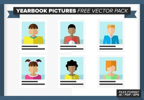 Yearbook Pictures Free Vector Pack