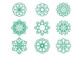 Arabesque Graphic Ornament Vectors