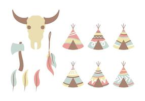 Pastell Tipi Vector Icon