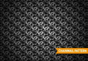 Chainmail patroon vector