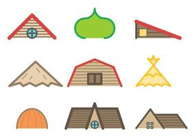 Vector de telhado gratuito