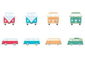 VW Libre Camper Vector