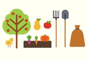 Free Farm Elements Vector