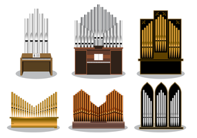 Gratis Pipe Organ Vector