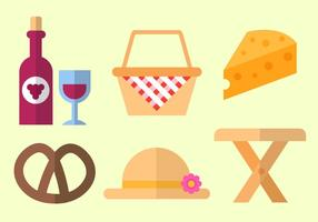 Vector de picnic gratis