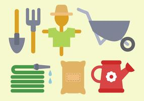 Gratis Farm Elements Vector