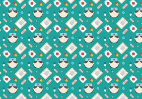Free Nurse Vector Pattern