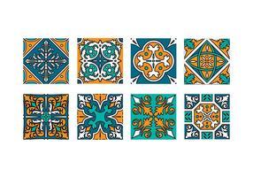 Vetor de mosaico maroc