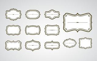 Vintage Cartouche Rahmen