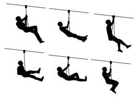 Zipline vector