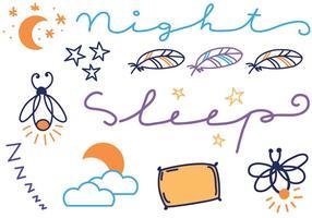 Vectores Nocturnos Gratis