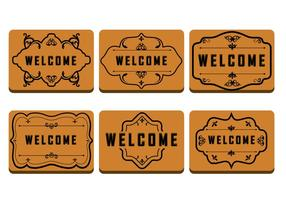 Brown Welcome Mat