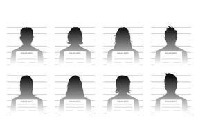 Free Mugshot Template Vector
