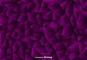 Fundo vetorial de polígonos roxos