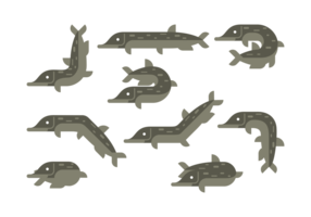 Pike Vector Pictogrammen