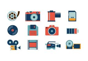 Gratis Camera Icon Vector