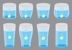 Effervescent Symbols In Glass