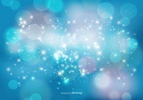 Abstract Bokeh and Sparkles Background vector