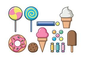 Free Sweet Foods Vektor-Icon