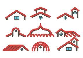 Vecteur gratuit sur le toit