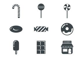 Free Candy Shop Icons Vector