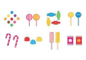 Vectoriales de dulces gratis vector