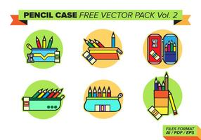 Potlood Geval Gratis Vector Pack Vol. 2