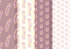 Vector Branch Watercolor Patterns