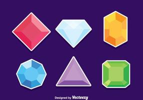 Gem Stone Vector Set
