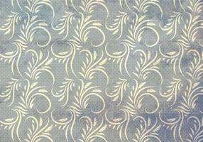 Grey Vector Western Flourish Seamless Pattern