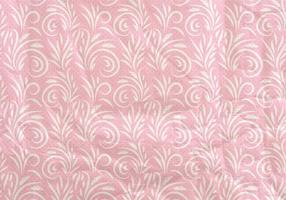 Pink Vector Flourish Occidental Patrón transparente