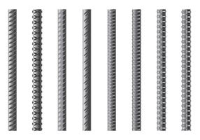 Set Of Rebar Vector