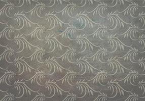 Houtskool Vector Western Bloei Naadloos Patroon