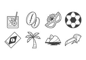 Gratis Brazilië Icon Vector